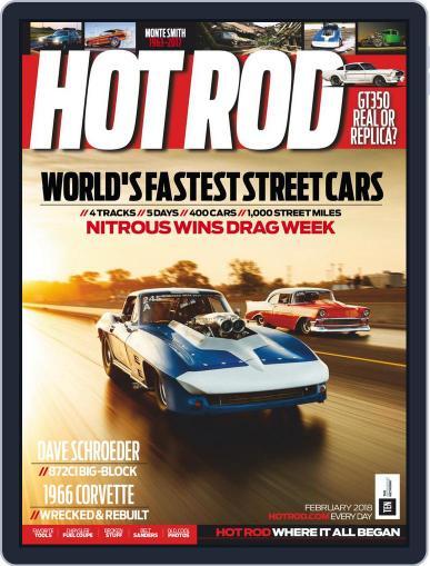 Hot Rod February 1st, 2018 Digital Back Issue Cover