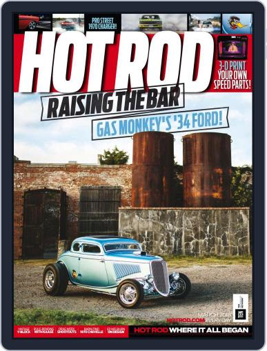 Hot Rod March 1st, 2018 Digital Back Issue Cover