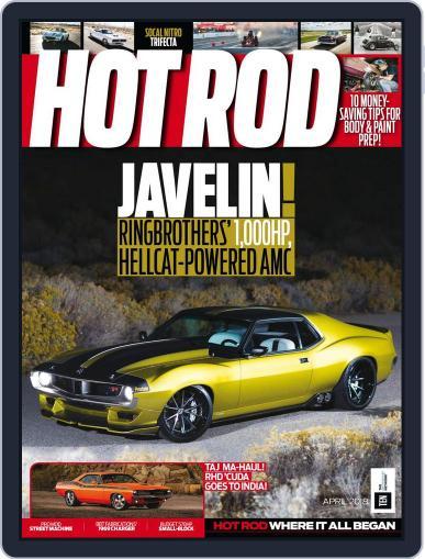 Hot Rod April 1st, 2018 Digital Back Issue Cover
