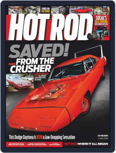 Hot Rod June 1st, 2018 Digital Back Issue Cover