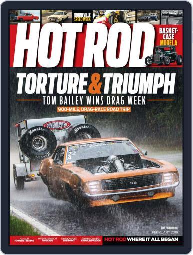 Hot Rod February 1st, 2019 Digital Back Issue Cover