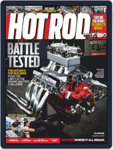 Hot Rod March 1st, 2019 Digital Back Issue Cover