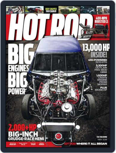 Hot Rod May 1st, 2019 Digital Back Issue Cover