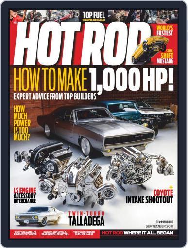 Hot Rod September 1st, 2019 Digital Back Issue Cover