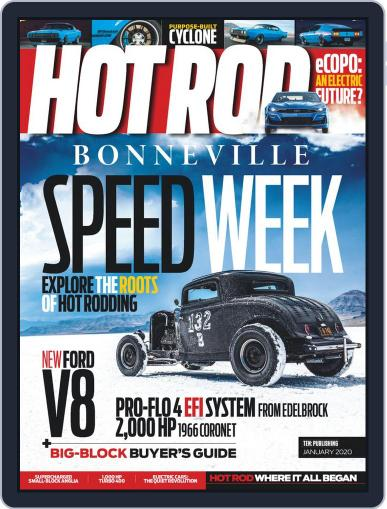 Hot Rod January 1st, 2020 Digital Back Issue Cover