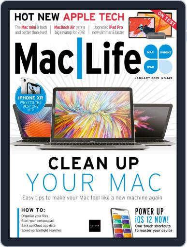 MacLife January 1st, 2019 Digital Back Issue Cover