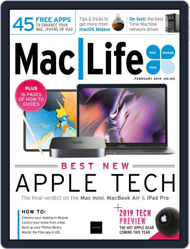 MacLife February 1st, 2019 Digital Back Issue Cover