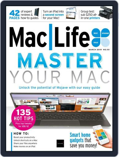 MacLife March 1st, 2019 Digital Back Issue Cover