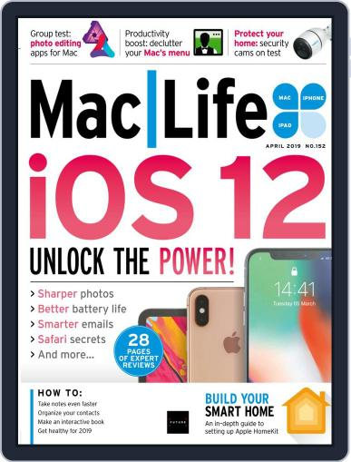 MacLife April 1st, 2019 Digital Back Issue Cover