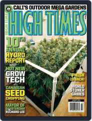 High Times (Digital) Subscription December 16th, 2008 Issue