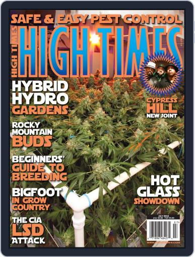 High Times May 18th, 2010 Digital Back Issue Cover