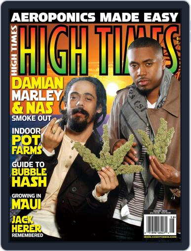 High Times June 15th, 2010 Digital Back Issue Cover