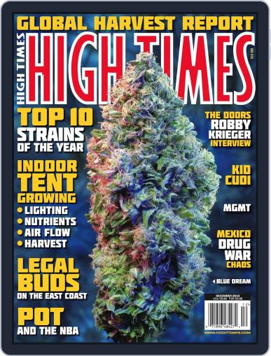 High Times October 12th, 2010 Digital Back Issue Cover