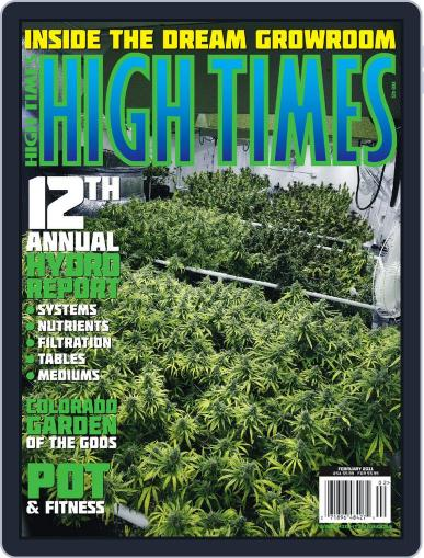 High Times December 16th, 2010 Digital Back Issue Cover