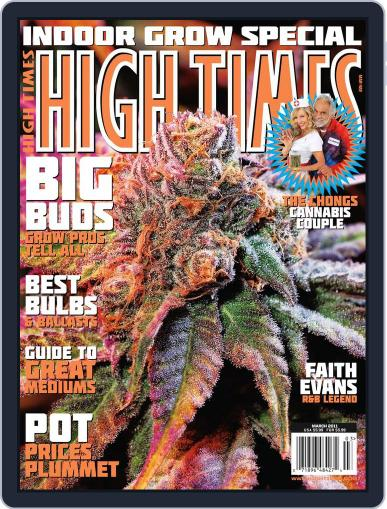 High Times January 25th, 2011 Digital Back Issue Cover
