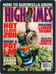 High Times (Digital) Subscription March 16th, 2011 Issue