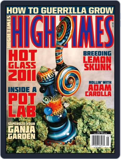 High Times March 16th, 2011 Digital Back Issue Cover