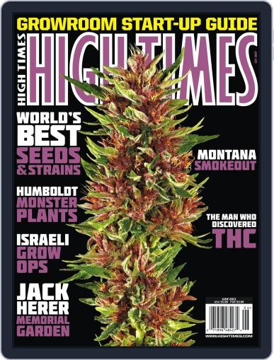 High Times April 22nd, 2011 Digital Back Issue Cover
