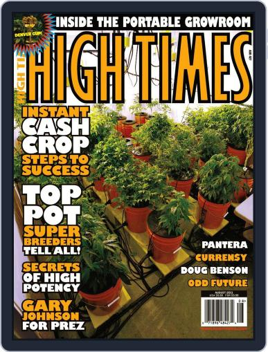 High Times June 14th, 2011 Digital Back Issue Cover