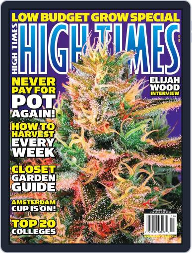 High Times August 16th, 2011 Digital Back Issue Cover