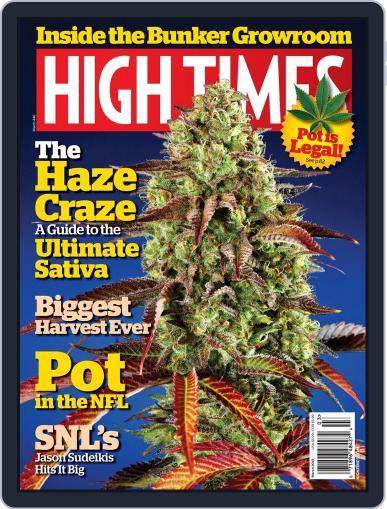 High Times January 22nd, 2013 Digital Back Issue Cover