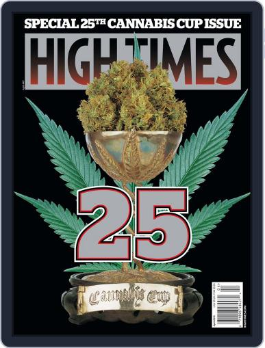 High Times February 13th, 2013 Digital Back Issue Cover