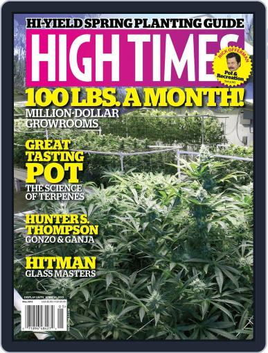 High Times March 18th, 2013 Digital Back Issue Cover