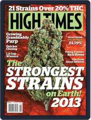 High Times (Digital) Subscription April 16th, 2013 Issue
