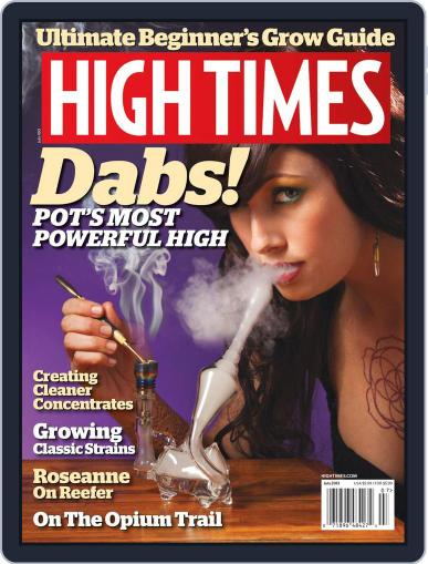 High Times May 17th, 2013 Digital Back Issue Cover