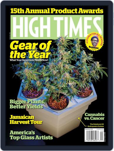 High Times July 10th, 2013 Digital Back Issue Cover