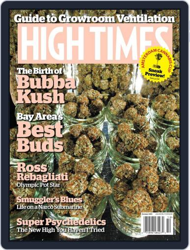 High Times August 16th, 2013 Digital Back Issue Cover