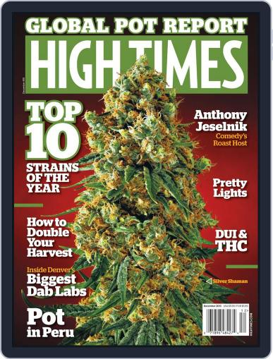 High Times October 8th, 2013 Digital Back Issue Cover