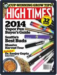 High Times (Digital) Subscription November 12th, 2013 Issue