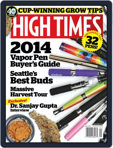 High Times November 12th, 2013 Digital Back Issue Cover