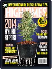 High Times (Digital) Subscription December 16th, 2013 Issue