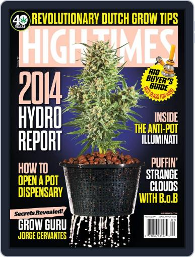 High Times December 16th, 2013 Digital Back Issue Cover