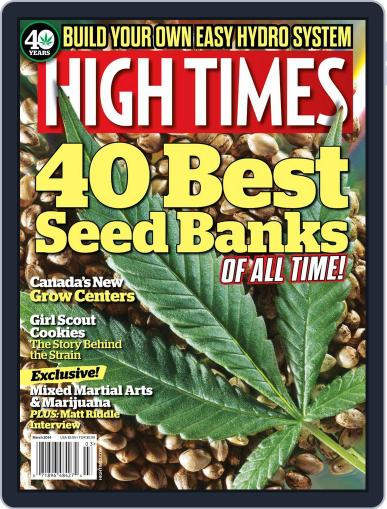 High Times January 20th, 2014 Digital Back Issue Cover