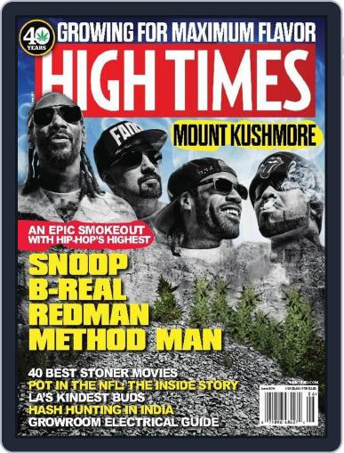 High Times May 31st, 2014 Digital Back Issue Cover