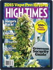 High Times (Digital) Subscription July 1st, 2015 Issue
