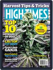 High Times (Digital) Subscription December 1st, 2015 Issue
