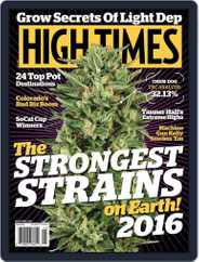 High Times (Digital) Subscription June 1st, 2016 Issue