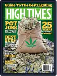 High Times (Digital) Subscription October 1st, 2016 Issue