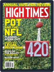 High Times (Digital) Subscription November 1st, 2016 Issue