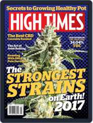 High Times (Digital) Subscription May 1st, 2017 Issue