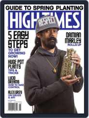 High Times (Digital) Subscription June 1st, 2017 Issue