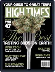 High Times (Digital) Subscription August 1st, 2017 Issue