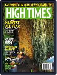 High Times (Digital) Subscription April 1st, 2018 Issue