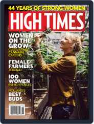 High Times (Digital) Subscription November 1st, 2018 Issue