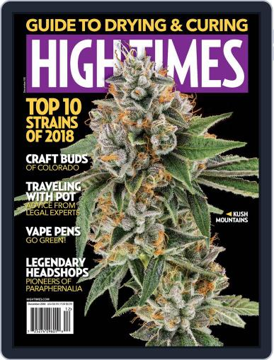High Times December 1st, 2018 Digital Back Issue Cover
