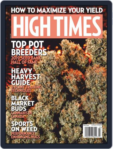 High Times March 1st, 2019 Digital Back Issue Cover